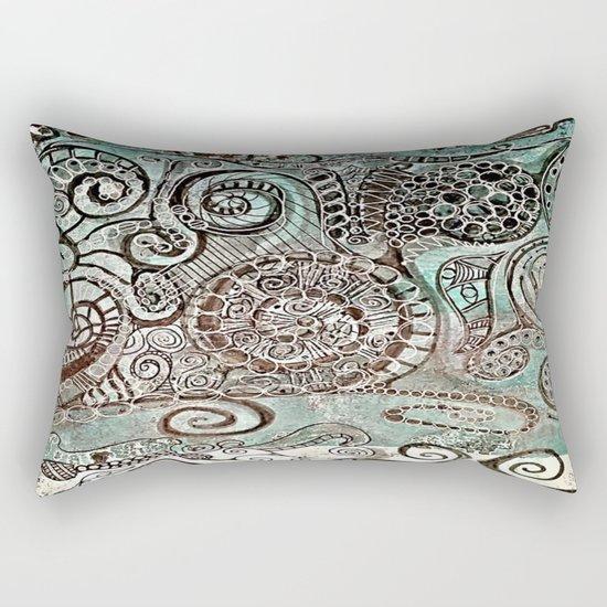 Journal Swirl Rectangular Pillow
