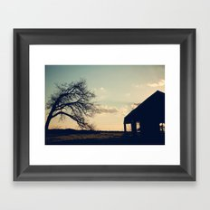 A Sad End Framed Art Print