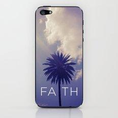 Palm Tree Faith iPhone & iPod Skin