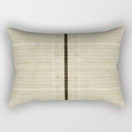 """Simple Oriental Curtains (Beige)"" Rectangular Pillow"