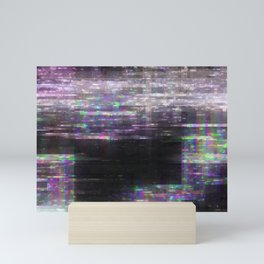 Glitch, please Mini Art Print