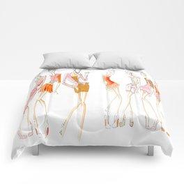 Peachy Keen Line up Comforters