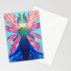 The modern tooth fairy Stationery Cards