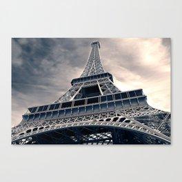 Towering Eiffel Tower Canvas Print