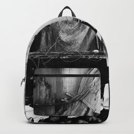 Destroyed - B/W Backpack