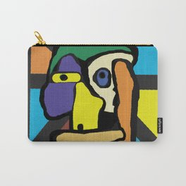 Buddy Blue - Sees All - Says Now't Carry-All Pouch