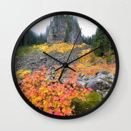 Table Rock Wilderness Landscape Wall Clock