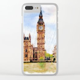 London Calling Clear iPhone Case