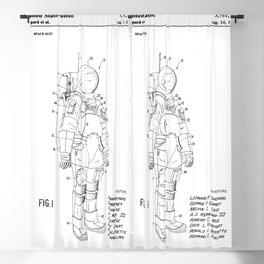 NASA Space Suit Patent Blackout Curtain