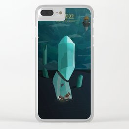 Into the Desert Clear iPhone Case