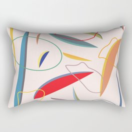 Slices II Rectangular Pillow