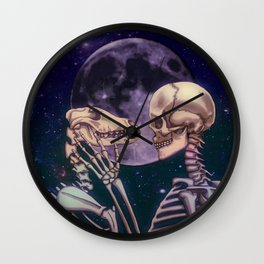 Never coming home Wall Clock