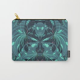 Fireworks on Venus Floral Mandala Carry-All Pouch