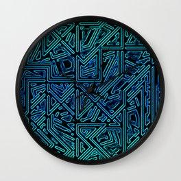 Bleen Grue Wall Clock