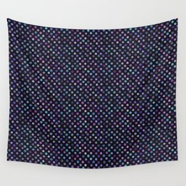 Retro Colored Dots Material Wall Tapestry