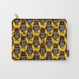 Gorillas & Bananas Carry-All Pouch