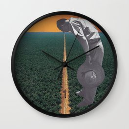 Lazers In The Jungle Wall Clock