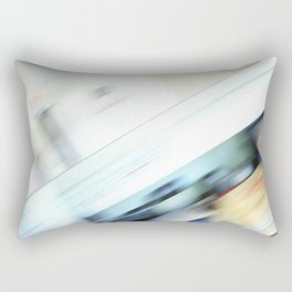 Life is a blight  in an office closed tight. Rectangular Pillow