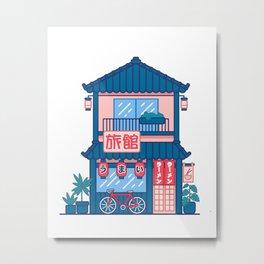 Ramen shop Metal Print