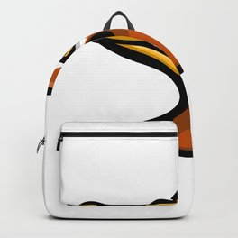 Laysan Duck Head Mascot Backpack