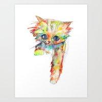 Cat III Art Print