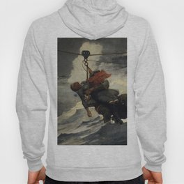The Life Line 1884 By WinslowHomer | Reproduction Hoody