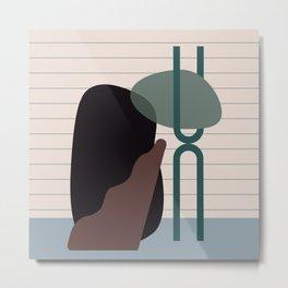 // Shape study #26 Metal Print