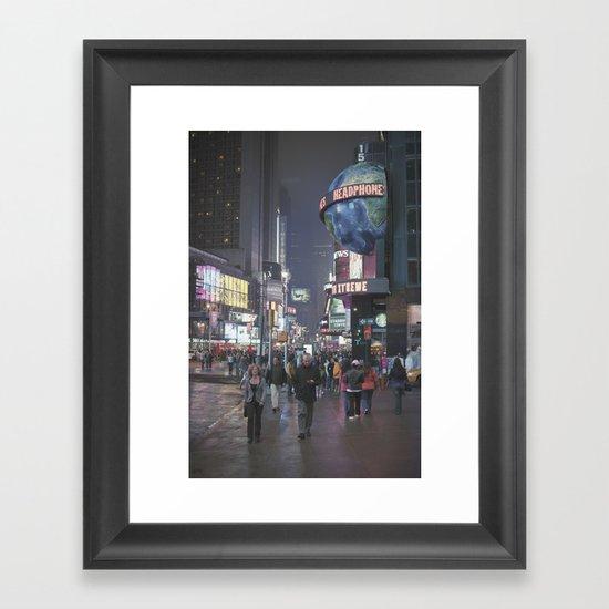 it's not even square... Framed Art Print