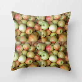 Jonagold Apples Throw Pillow