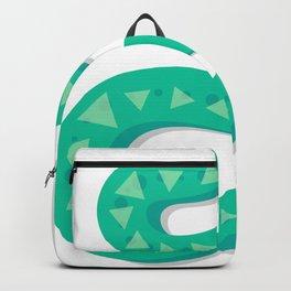 Two Faced Snake Backpack
