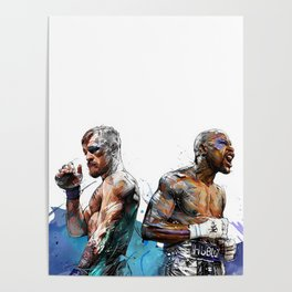 Mayweather Vs McGregor Poster