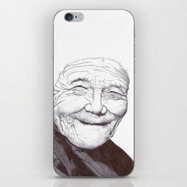 Peaceful Elder iPhone Skin
