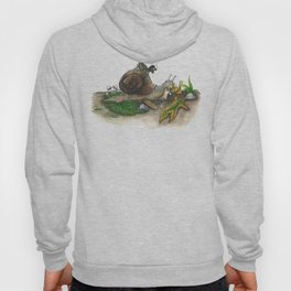 Little Worlds: Snail and Cricket Hoody