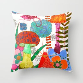 Foraging For Your Heart Throw Pillow