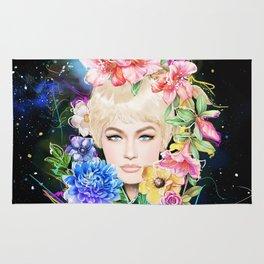 Flower Head Rug