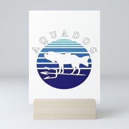 Aquadog Fish Dog Mix Mini Art Print