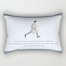 Walter Mitty, Ben Stiller, Major Tom, Print Rectangular Pillow