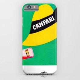 Extremely rare Campari Aperitif 'l aperitivo bullet' Advertisement Print iPhone Case