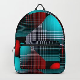 3D - abstraction -80- Backpack