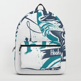 Fishing Hooked for Fife Real Addiction Backpack