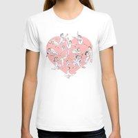 sterek T-shirts featuring Dancing Sterek with heart prin by littlecofiegirl
