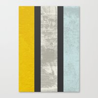 marble Canvas Prints featuring Marble by FLATOWL