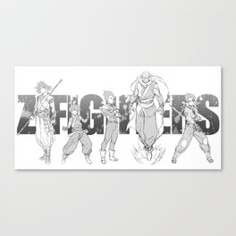 Z-Fighters Canvas Print