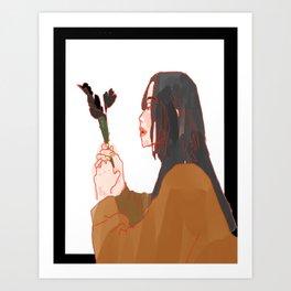 Autumn Chills Art Print