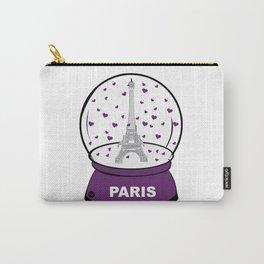 Paris Boule à cœurs Carry-All Pouch