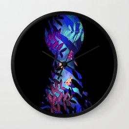 Magic Mushrooms in Wonderland Wall Clock