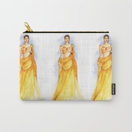 Girl in Lacha Carry-All Pouch