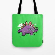 Steakosaurus Tote Bag