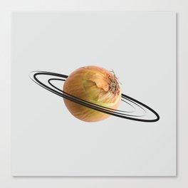 onion saturn Canvas Print
