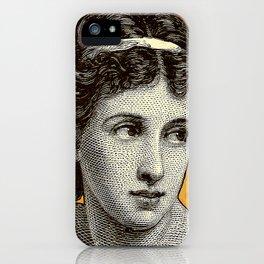 Seductress Orange iPhone Case